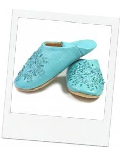Babouches slippers - Kenzi Bleu