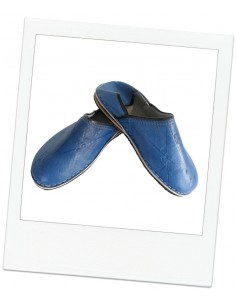Babouches slippers - Menara Bleu
