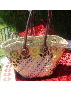 Wicker basket - Oceane