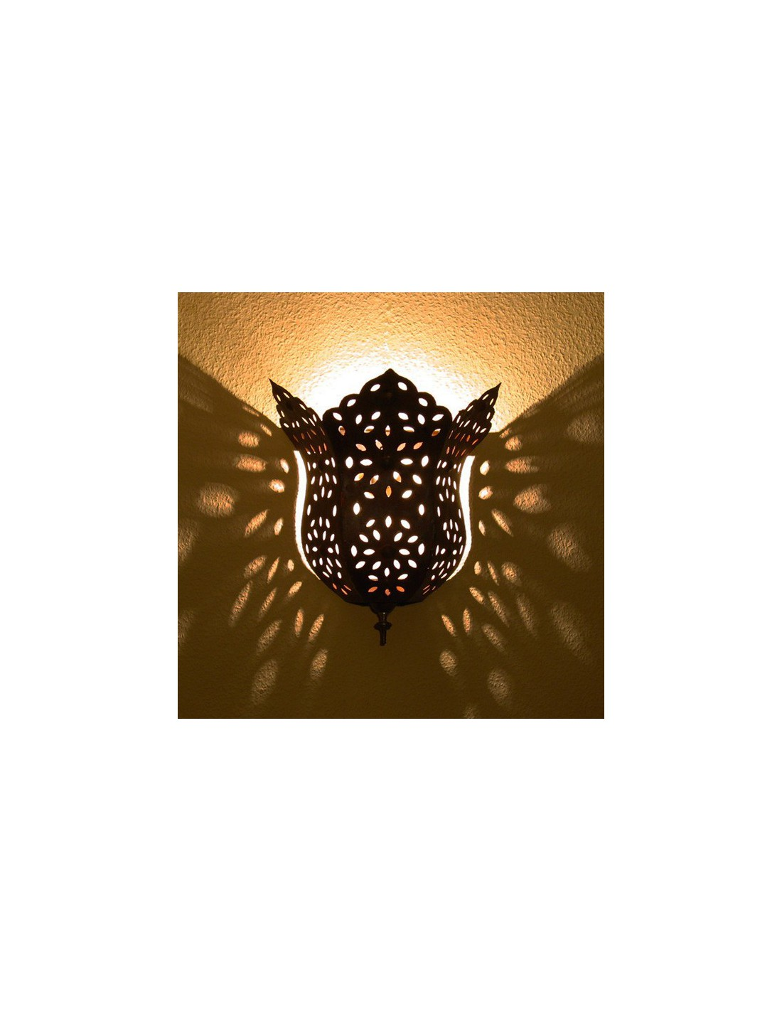 Artisanat marocain, appliques fer forge fait main