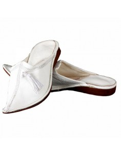 Babouches slippers - Rim blanche
