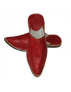 Babouches slippers - Aladin rouge