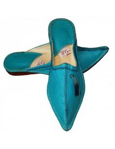 Babouches slippers - Rim Bleu ciel