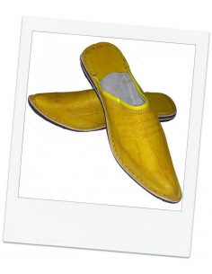 Babouches slippers - Aladin Jaune