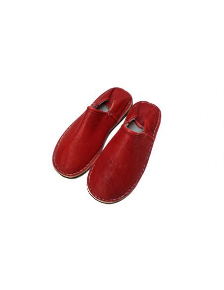 Babouches Menara rouge