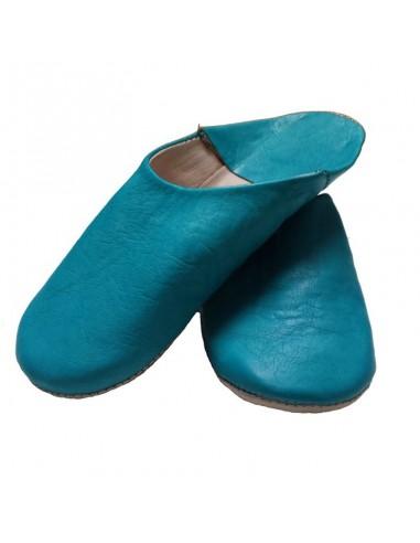 Babouches - Sahara bleu